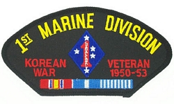 1st Marine Division Korean War Veteran Patches